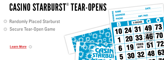 Casino Starburst Tear Opens